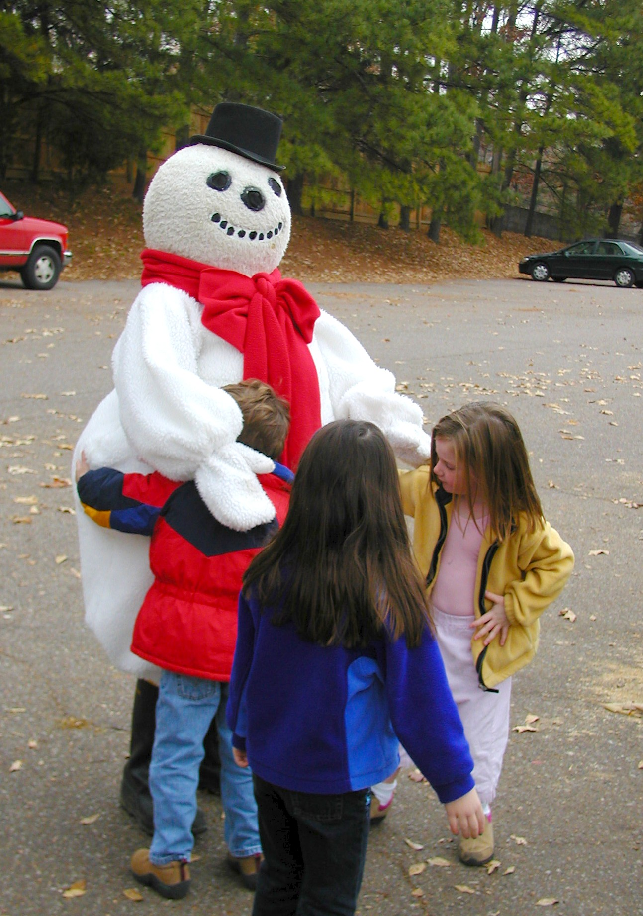 More hugs for Frosty!