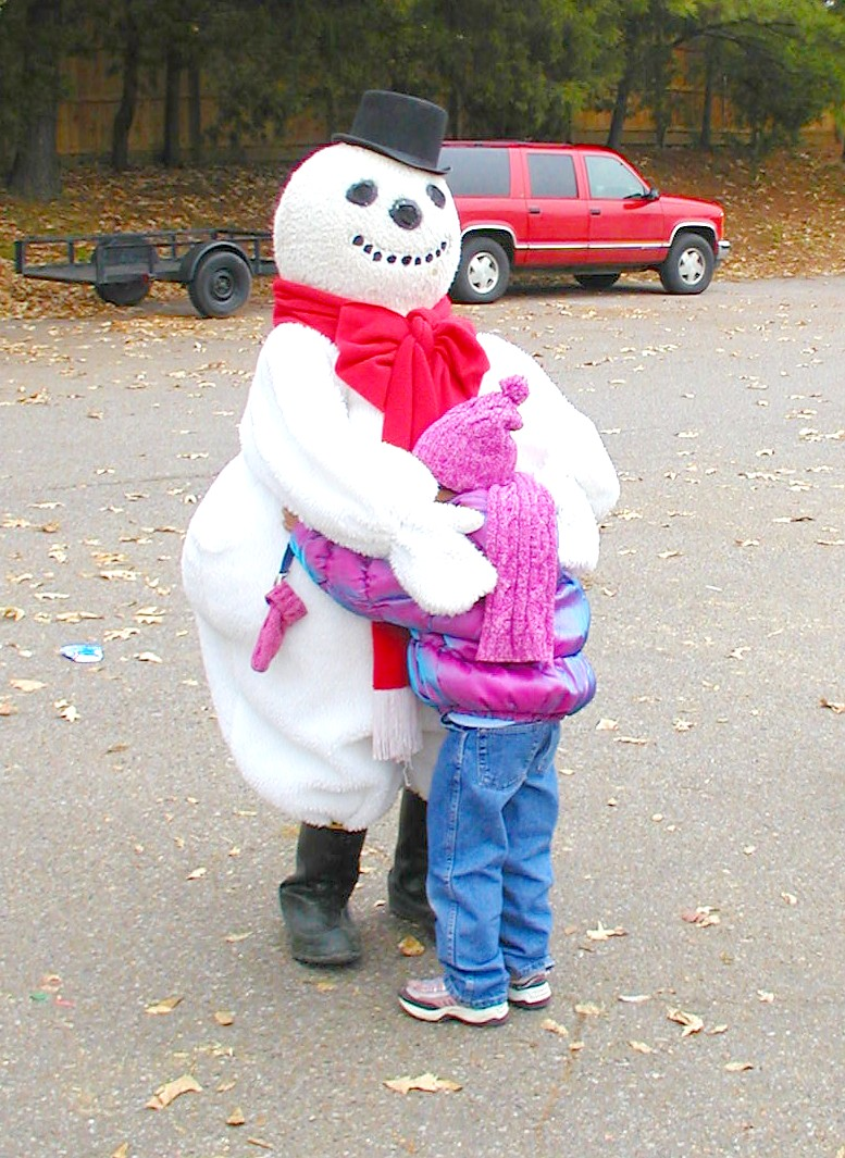 Hugs for Frosty!
