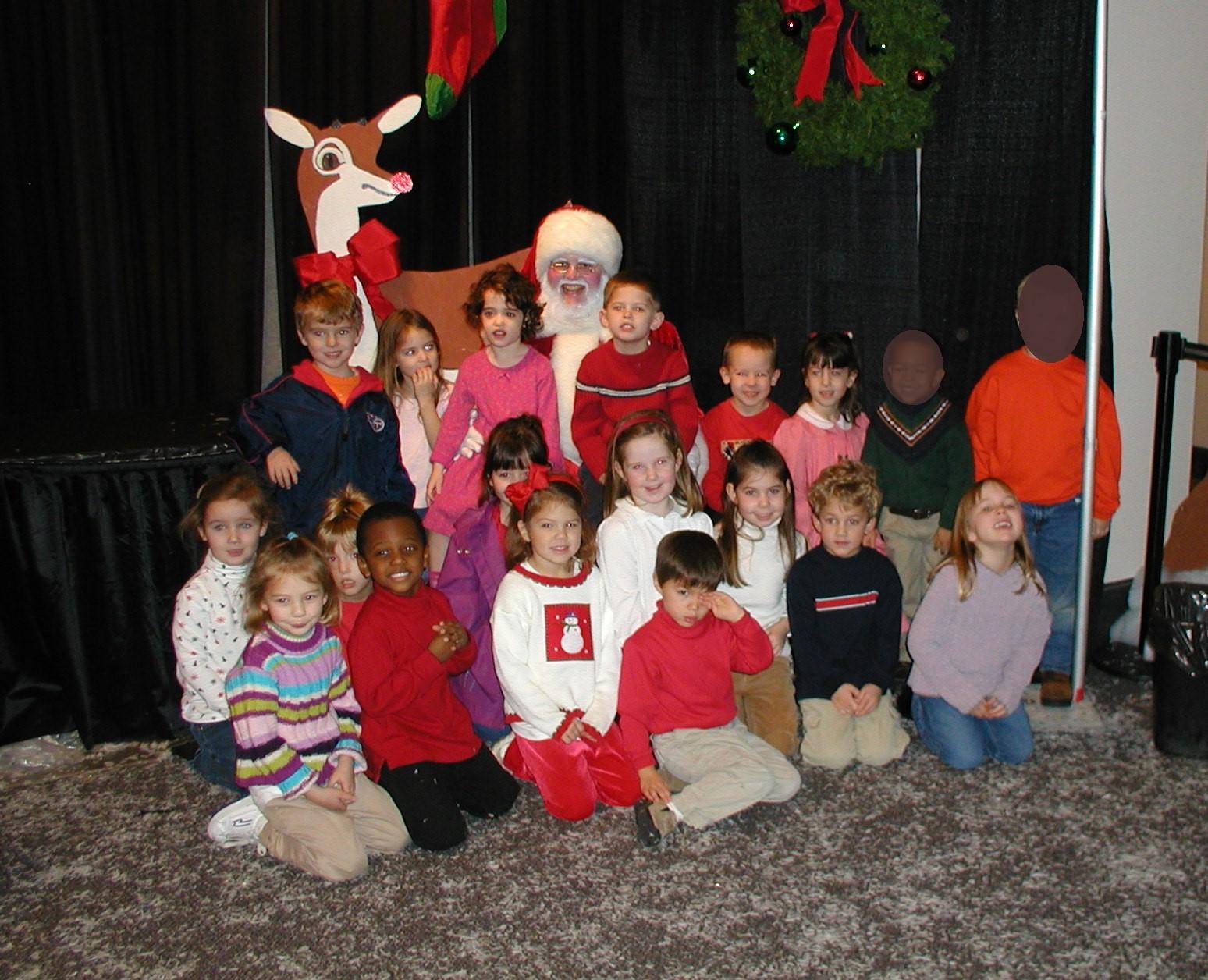 Ms. Brandi's Class with Santa!