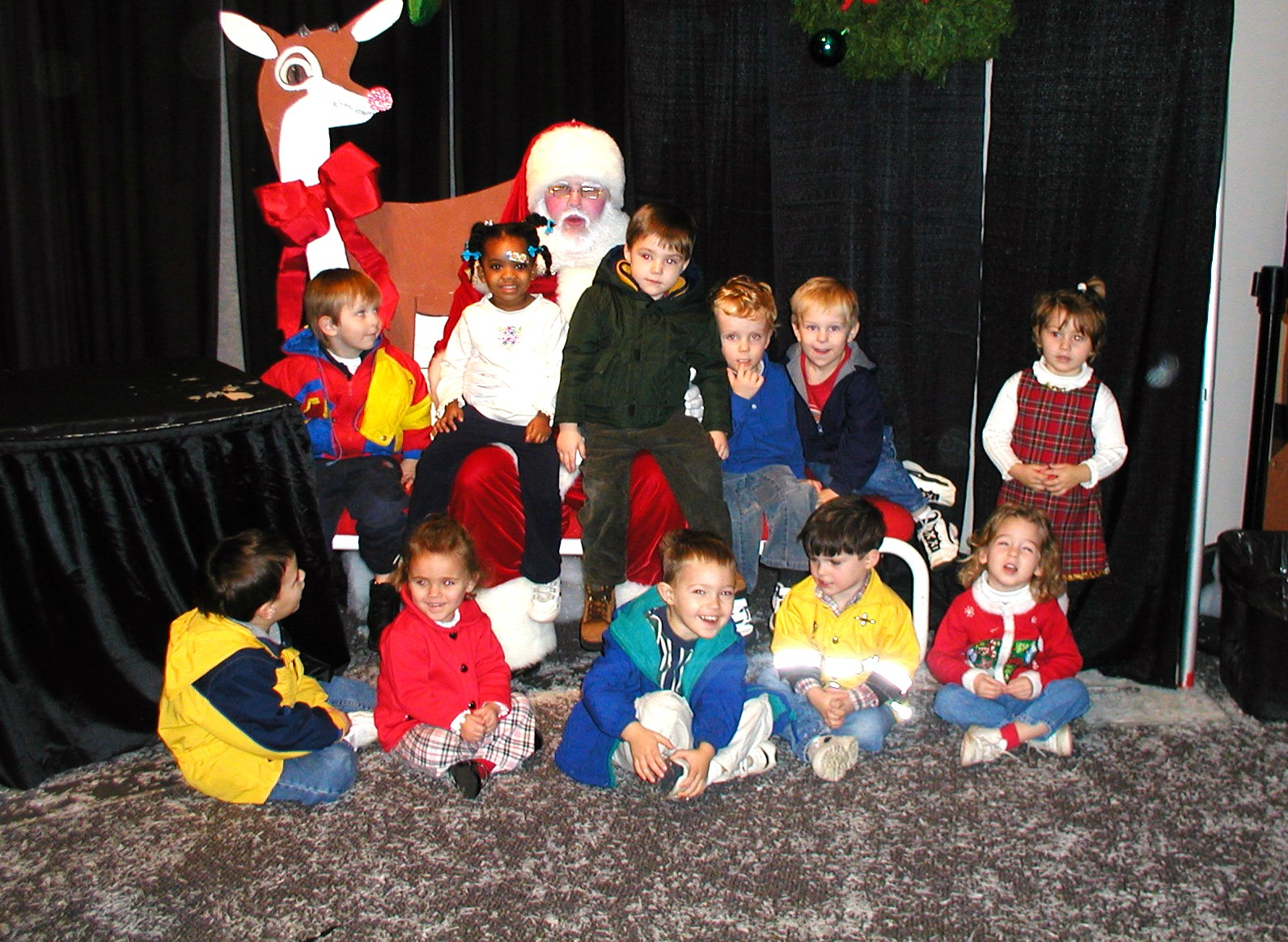 Ms. Jerrie's Class with Santa!